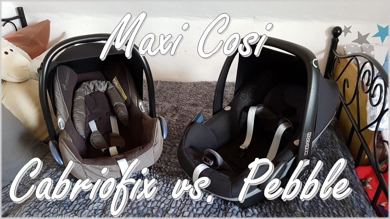 maxi cosi pebble vs cabriofix welcher babysitz ist. Black Bedroom Furniture Sets. Home Design Ideas