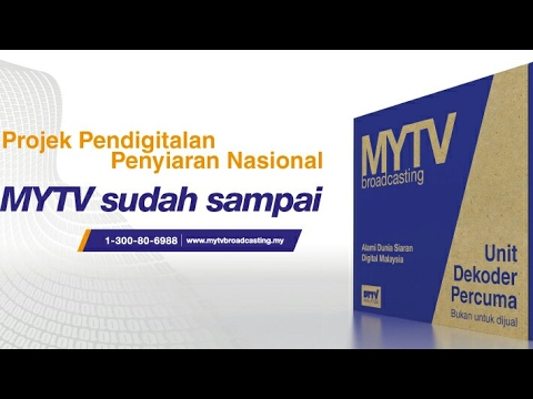 Cara pemasangan MyTv Broadcasting malaysia