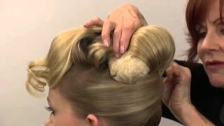 Hair Padding - how to pin and place