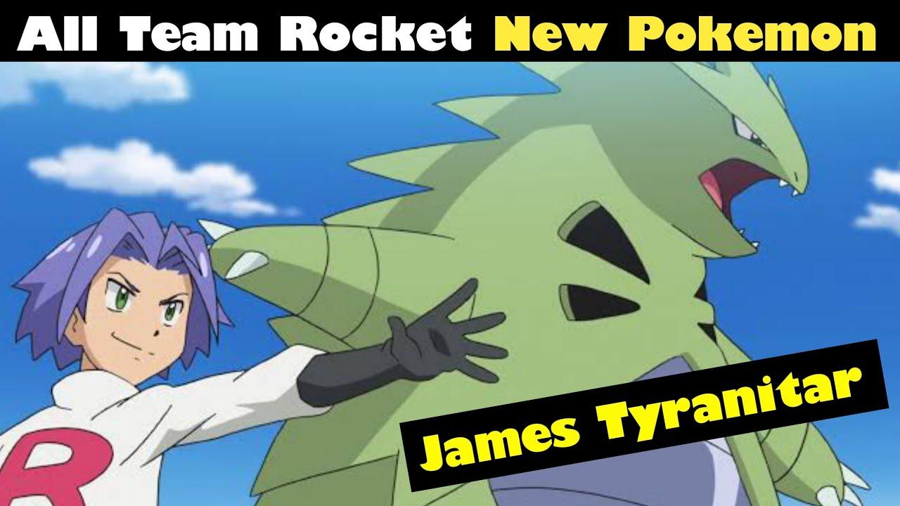 James tyranitar || All Team Rocket Pokemon in sword and shield || Ash new Pokemon | pokemon Hindi