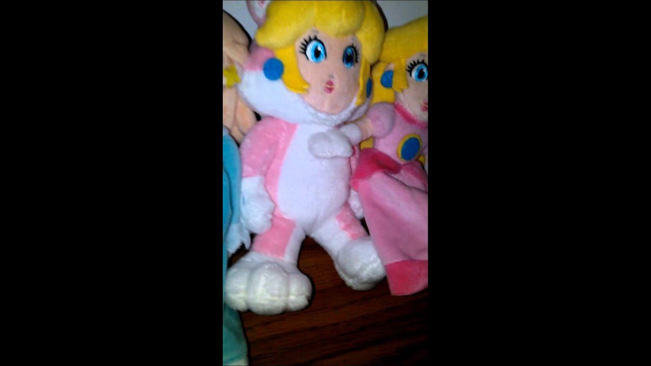 Super Mario 3d World Plush Cat Princess Daisy Youtube