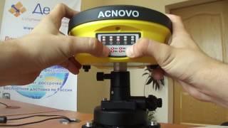 Acnovo GX9. Включення і настройка режимів приймача.