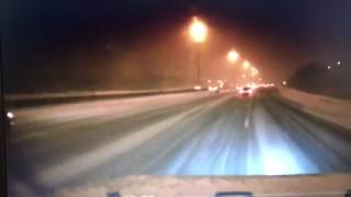 WATCH: Near miss on Ontario highway