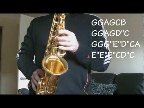 Happy Birthday To You, Alto Saxophone