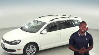 G96392NC - Used, 2011, Volkswagen Jetta Sport Wagen, TDI, White, Test Drive, Review, For Sale -