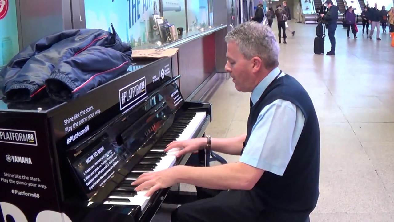 Coach Driver Plays The Blues (During Rush Hour)