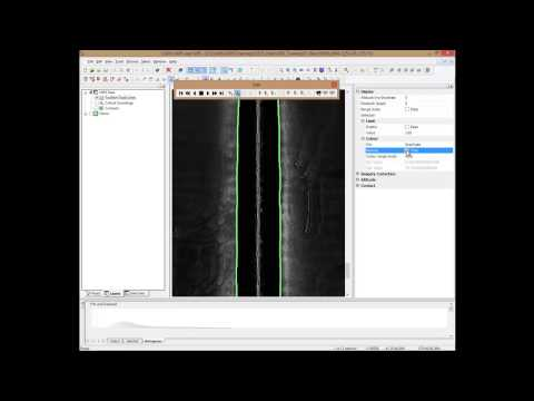 Side scan sonar data processing using CARIS HIPS and SIPS 8.1