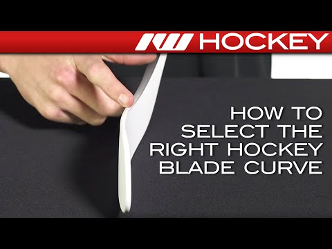 How To Select The Right Hockey Blade Curve