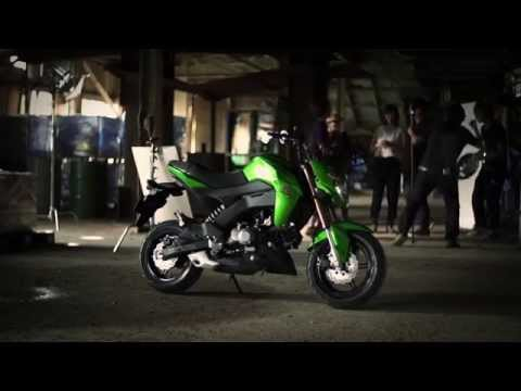 Kawasaki Z125 Pro Promotion Video