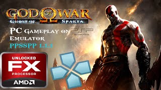 GOD OF WAR : GHOST OF SPARTA PC / PPSSPP-v1.1.1 Gameplay ( PPSSPP Emulator ) & Settings Full speed