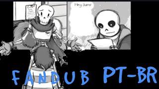 [FANDUB PT-BR]Papyrus final puzzle[UNDERTALE]
