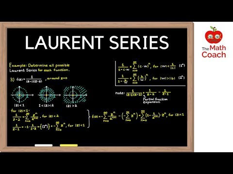 Laurent Series Explained | How To Determine Laurent Series | Complex Analysis #9