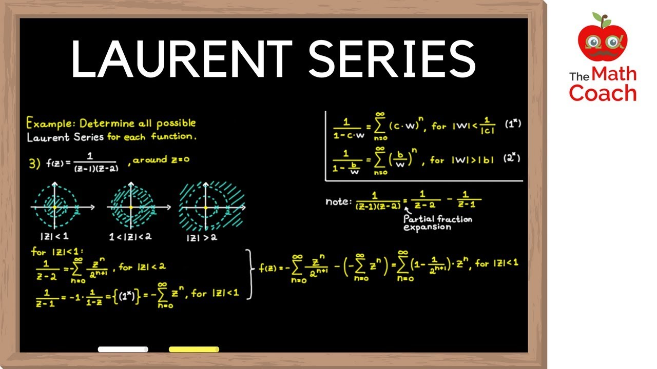 Laurent Series Explained | How to Determine Laurent Series | Complex  Analysis #9