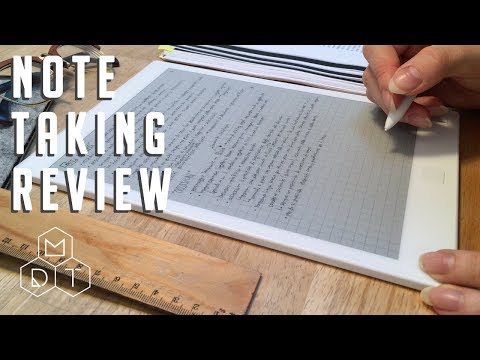 reMarkable review for note taking 4K UHD
