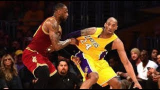 WHY LEBRON JAMES IS NOT BETTER THAN KOBE BRYANT!