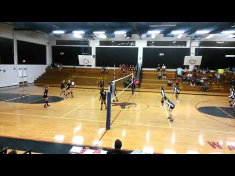 Tiera and Silver Sands Middle School Volleyball