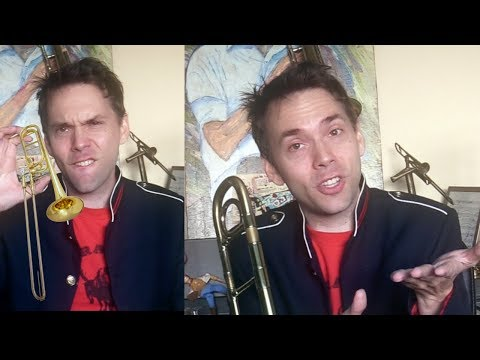 5 Minute Trombone Warm Up - How to Warm Up In 5 Minutes or Less