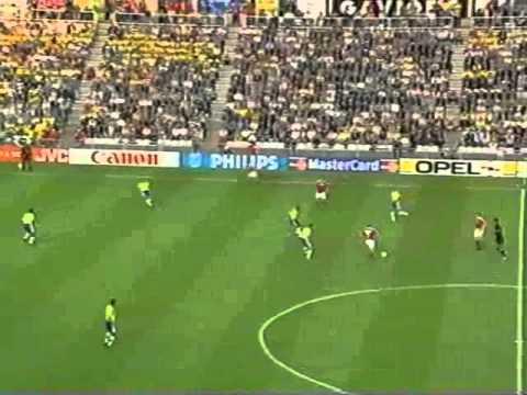 World Cup France 1998 - 1/4 final - Brazil - Denmark (Mundial)