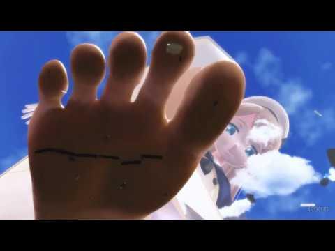 [MMD giantess]巨大娘のきまぐれ(Jarvis版)