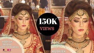 Modern bridal makeup tutorial video | Step by Step bridel makeup| SHWETA GAUR