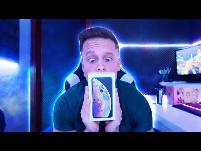 COMPREI UM IPHONE XS !!
