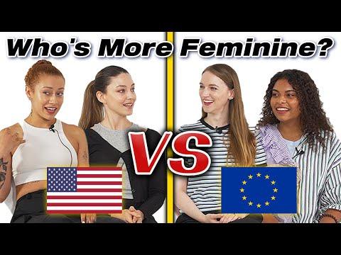American Girls vs European Girls!!