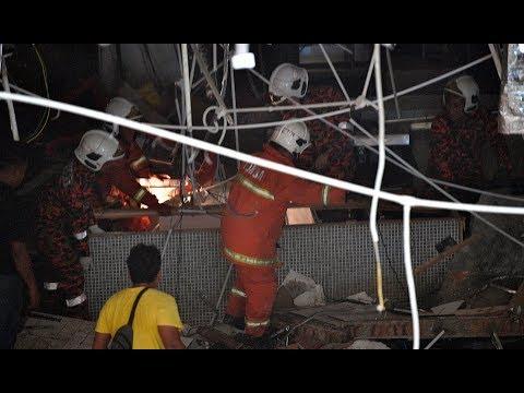 Three killed, 26 hurt in gas leak at Kuching mall