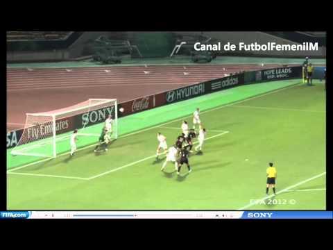 México Vs Nueva Zelanda 4-0 Mundial Femenil Sub-20 Japón 2012
