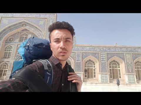 Great mosque of herat in afghanistan