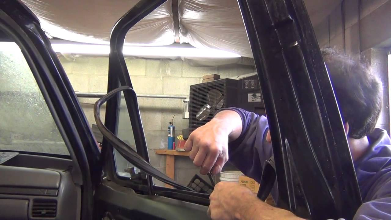1994 Powerstroke Project Part 45 Door Glass And Rear