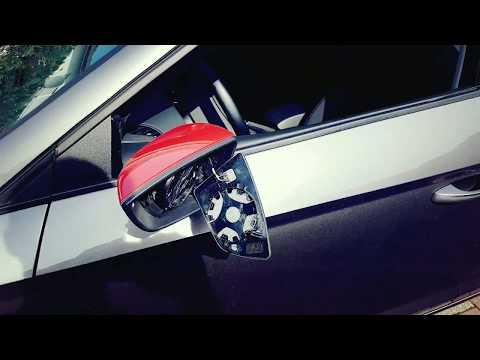 Links Fahrerseite Spiegelglas Beheizbar für Seat Ibiza 2008-2016