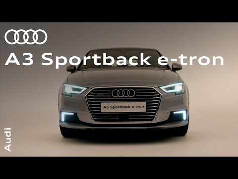 The Audi A3 Sportback e-tron: Plug-in hybrids without the compromise