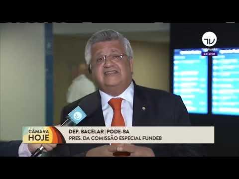 Entrevista ao vivo par TV Câmara sobre a importância do Novo Fundeb