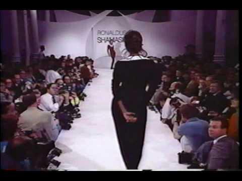 Iman modeling 1989