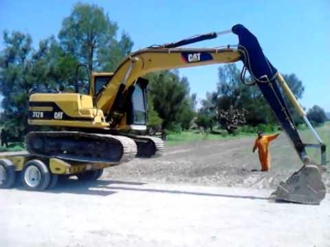ca285531af0 Excavadora 312 - YouTube