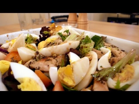 Chicken Egg Salad Recipe - Easy And Fast Chicken Salad Recipe