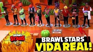 🌟 BRAWL STARS NA VIDA REAL SERÁ HOJE NA TV!!