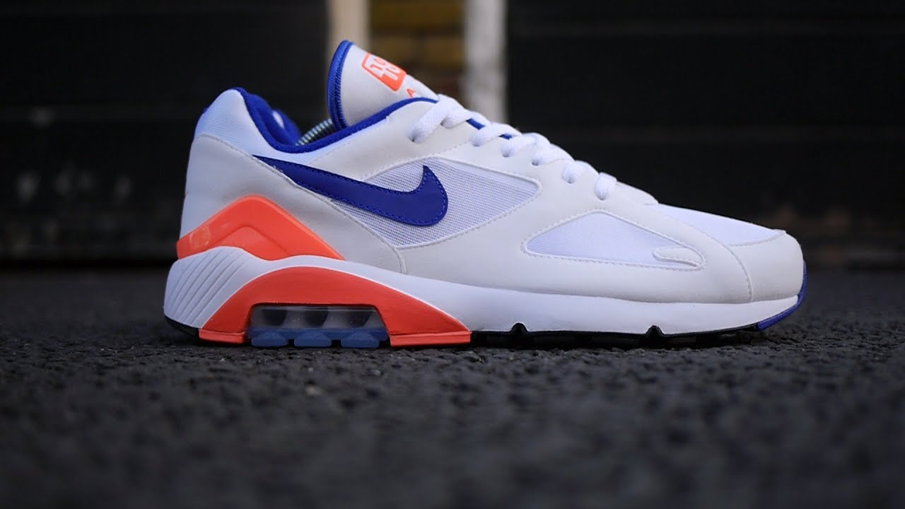 Air Max 180 OG 'Ultramarine' Review & On Feet (White, Ultramarine Solar Red) *2018*