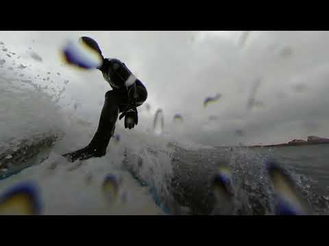 Fixed View 360fly 4k Surfing at Rossnowlagh