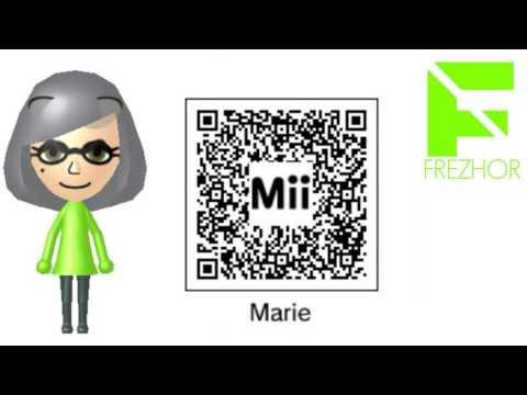 Mii maker qr codes