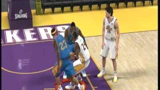 NBA 2K10 - 360 Layup