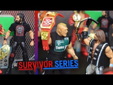 WWE ACTION FIGURE SETUP! SURVIVOR SERIES 2018 EDITION!