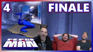 Alex's obsession with completing Pepsiman makes him turn to alternative means to win.