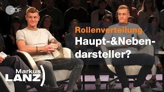Toni und Felix Kroos über Neid und Stolz untereinander - Markus Lanz vom 04.07.   ZDF