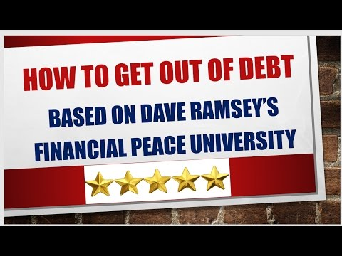 How To Get Completely Out Debt Using Dave Ramsey's Debt Snowball