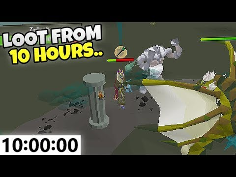 LOOT FROM 10 Hours Of ZULRAH On Ikov RSPS!! *3B Giveaway* #1