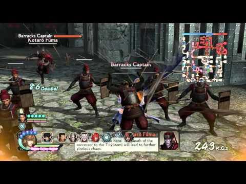 Samurai Warriors 4-2 Takakage Kobayakawa Rare Weapon (English)
