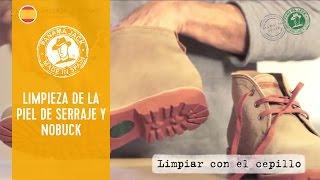 Cómo limpiar tus botas Panama Jack piel de serraje y nobuck