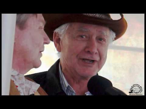 Randy Boone and Gary Clarke  Cowboy up for Vets sunday