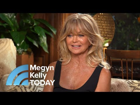 Goldie Hawn On Meditation, Mindfulness And 'Sexy' Kurt Russell  Megyn Kelly TODAY